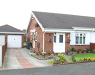 A Semi Detached Bungalow near Stanley, County Durham